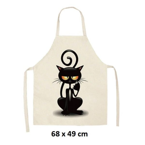 Chat griffe 68 x 49 cm