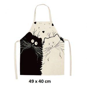 Chats amoureux 49 x 40 cm