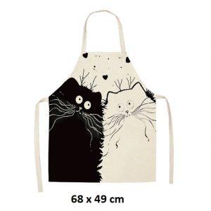 Chats amoureux 68 x 49 cm