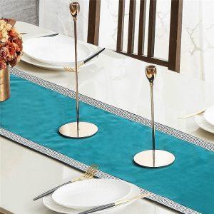 chemin-de-table-turquoise