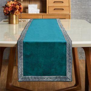 chemin-de-table-turquoise-vue-de-face