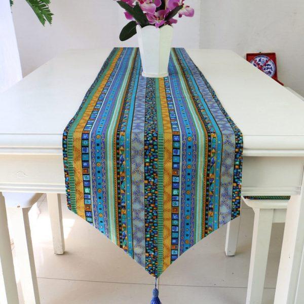 chemin_de_table_africain_bleu